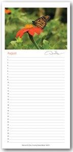 Sample of perpetual calendar