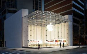 apple store front