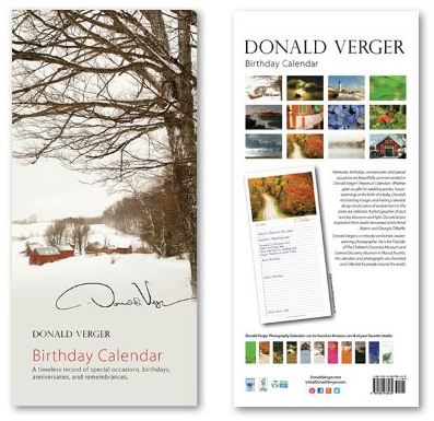 donald verger jenne farm calendar
