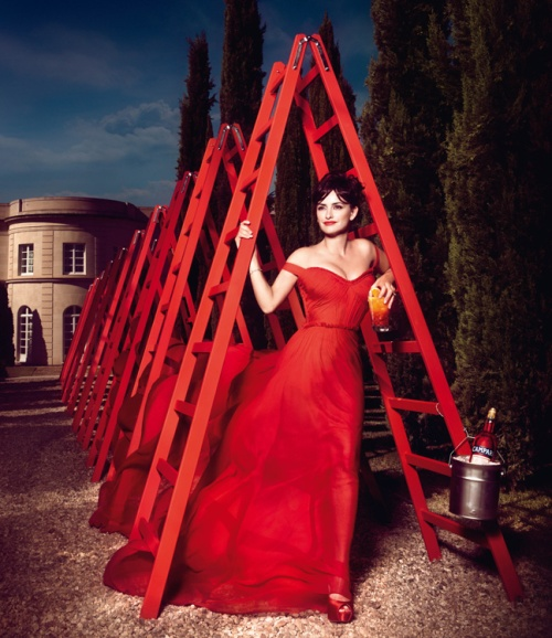penelope cruz campari_ december ladders