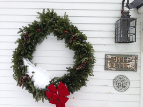 vermont inn wreath