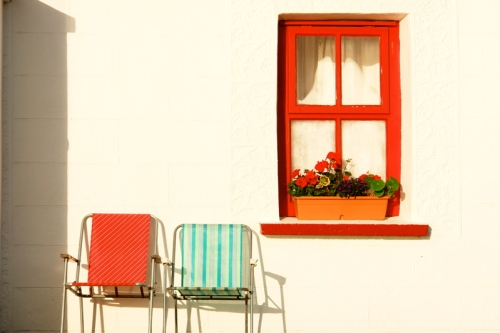 window box ballyvaughn Ireland