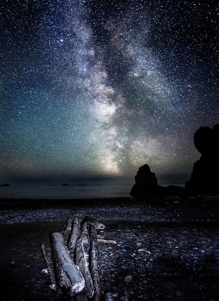 Journey to the Heavens - Ruby Beach, WA