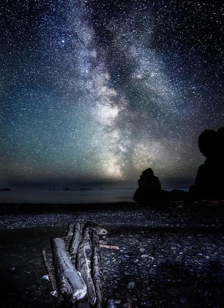 Journey to the Heavens - Ruby Beach, WA