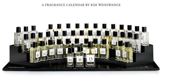 kim-weisswange perfume calendar