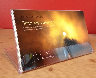 birthday calendar CD