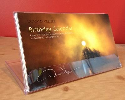 birthday calendar CD