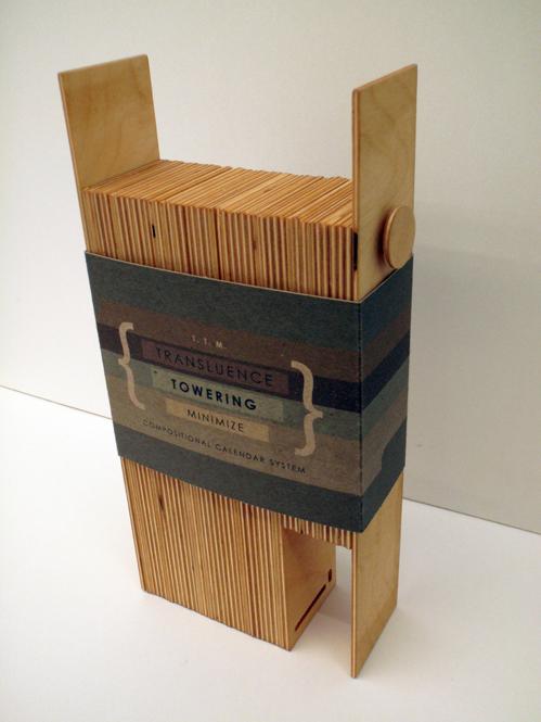 desk wooden calendar 2