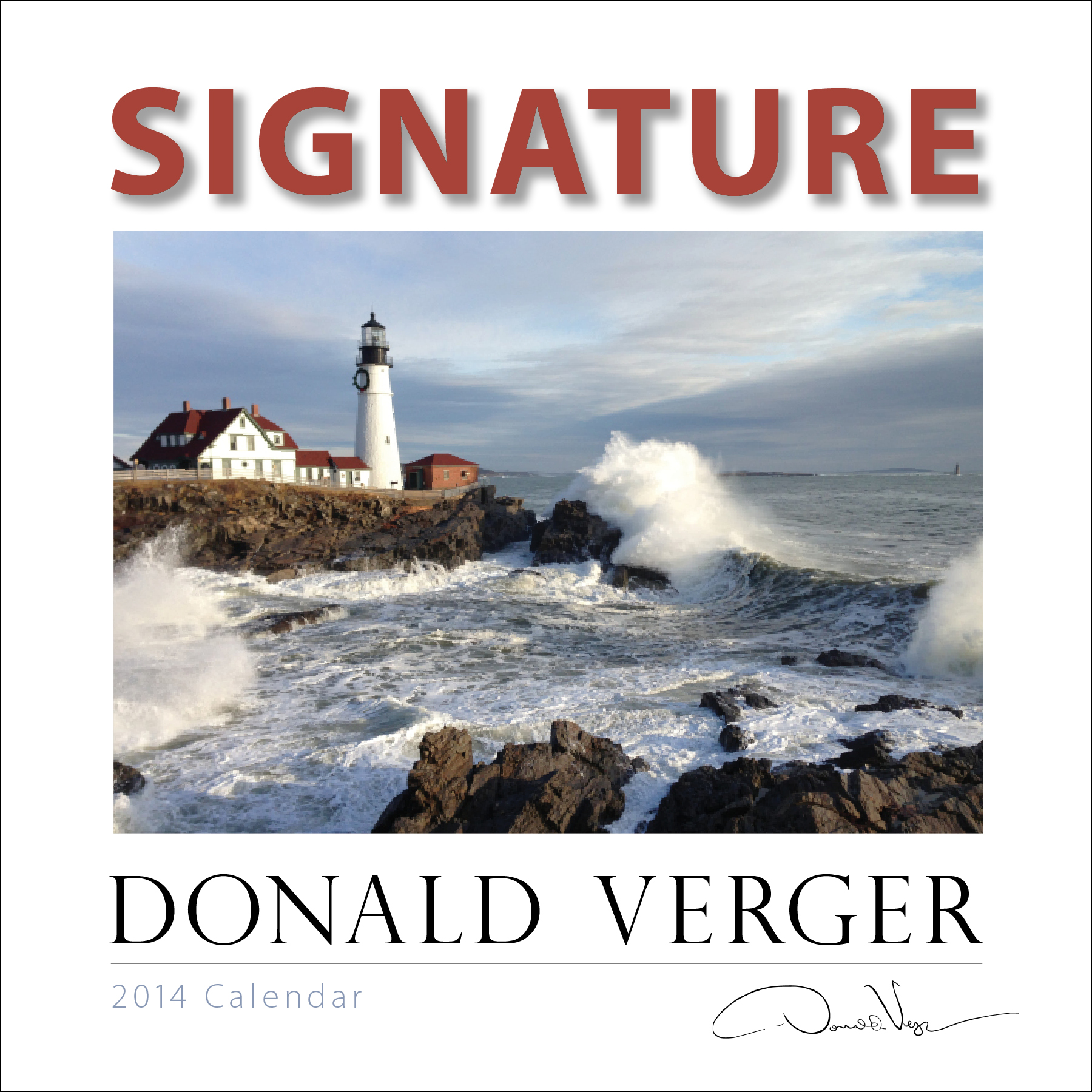 Donald Verger Signature Signature