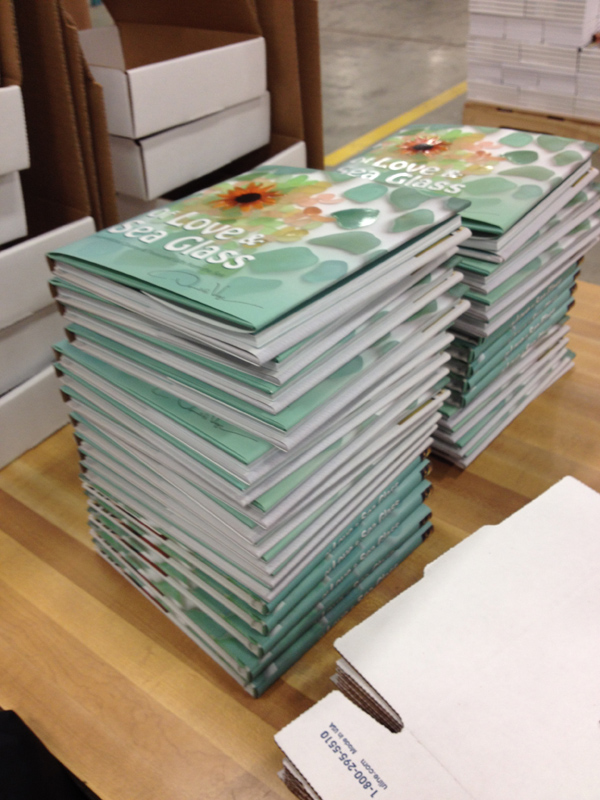 closeup of stack of book_s