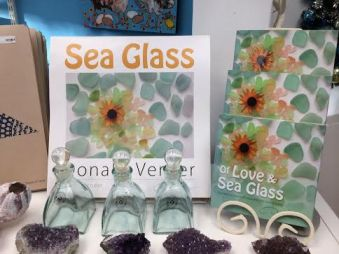 deep blue sea glass shop Kennebunkport maine 2