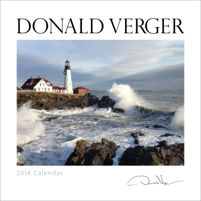 Donald Verger signature calendar cover