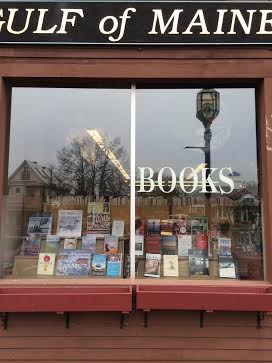 Gulf of Maine book shop in Brunswick