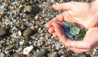 sea glass handful