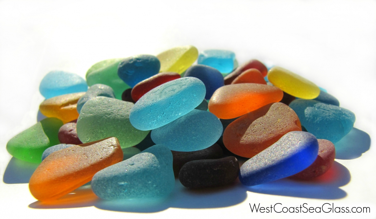 west coast sea glass collection