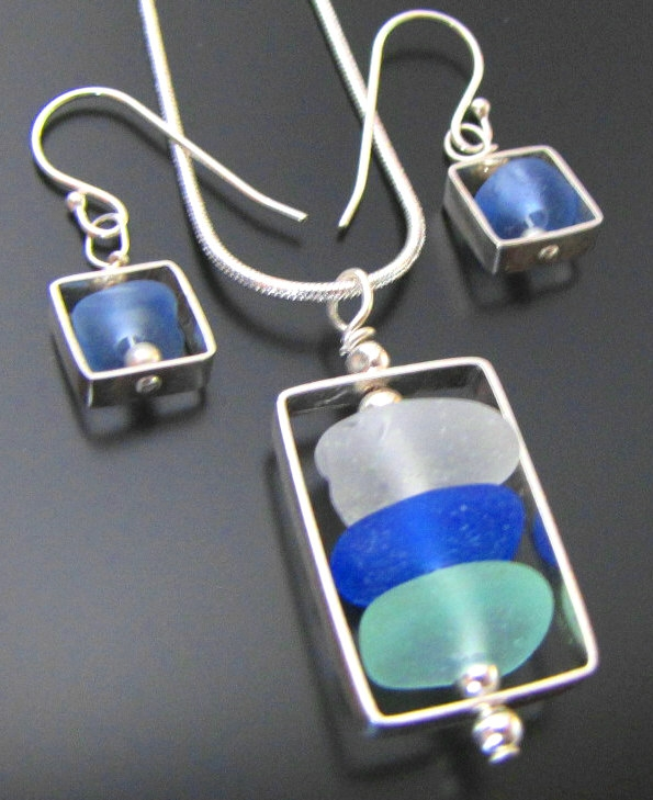 west coast sea glass jewelry 1