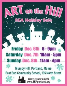 Art on the Hill poster