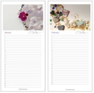 new sea glass calendar 1