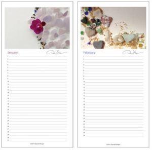 new sea glass calendar 1