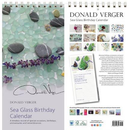 new sea glass calendar front