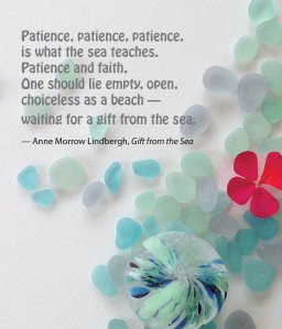 patience sea glass