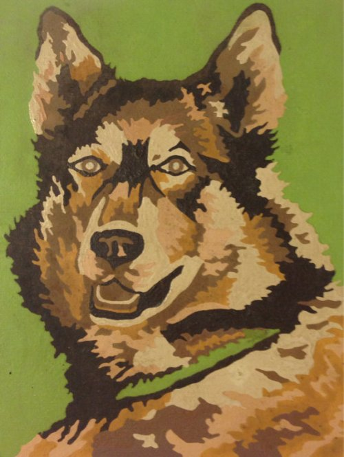 seaglass_gifties dog painting