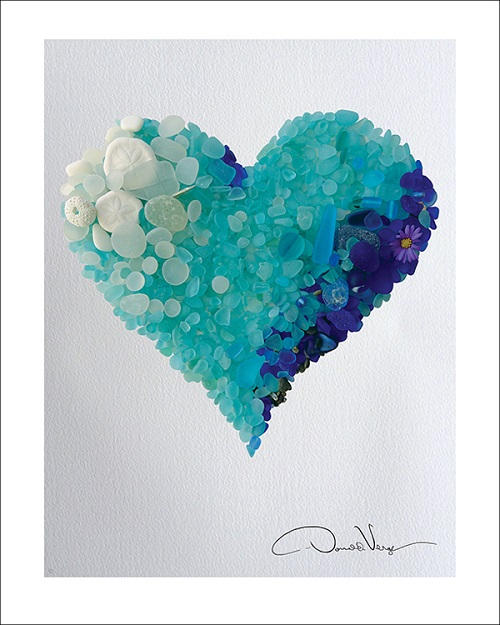 blue sea glass heart_500