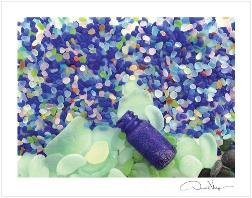 bottle sea glass