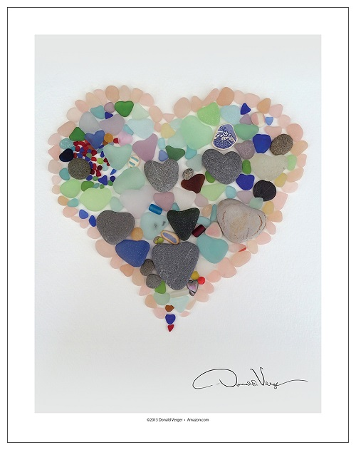 Sea Glass Heart #3_500