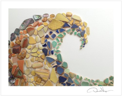 sea glass wave