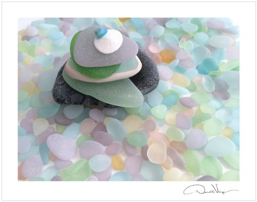 Zen sea glass