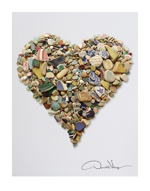 Pottery Heart Poster