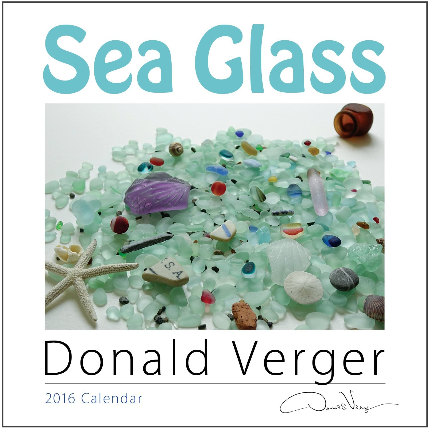 2016 sea glass calendar cover