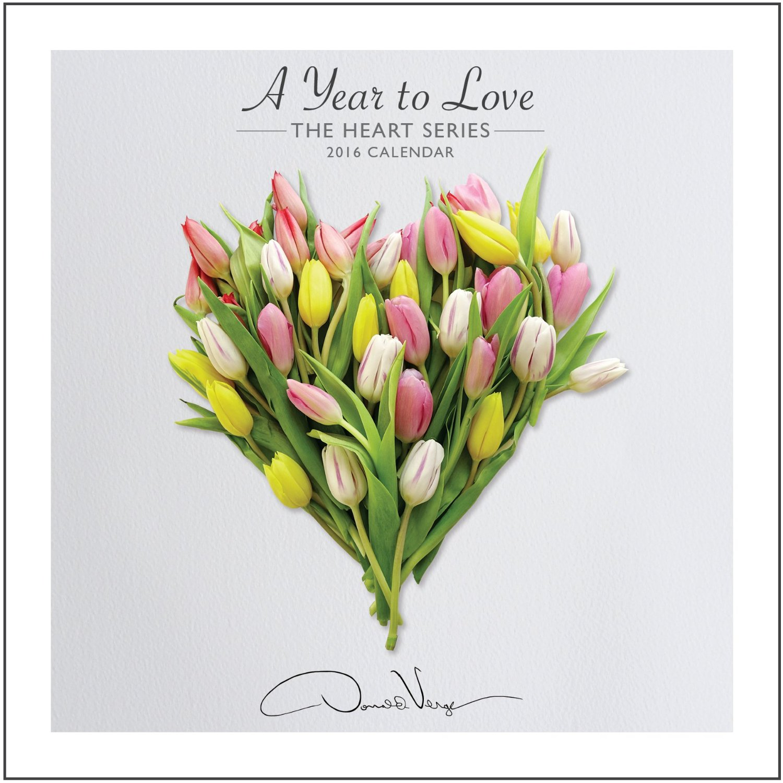 heart calendar cover