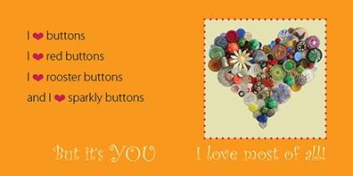 orange button heart 2