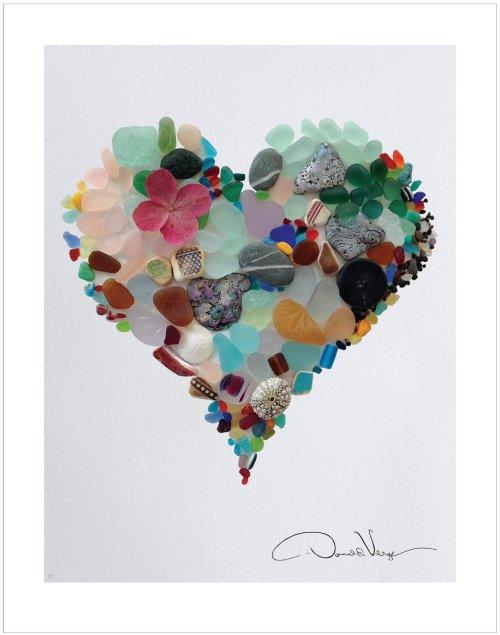 original heart poster