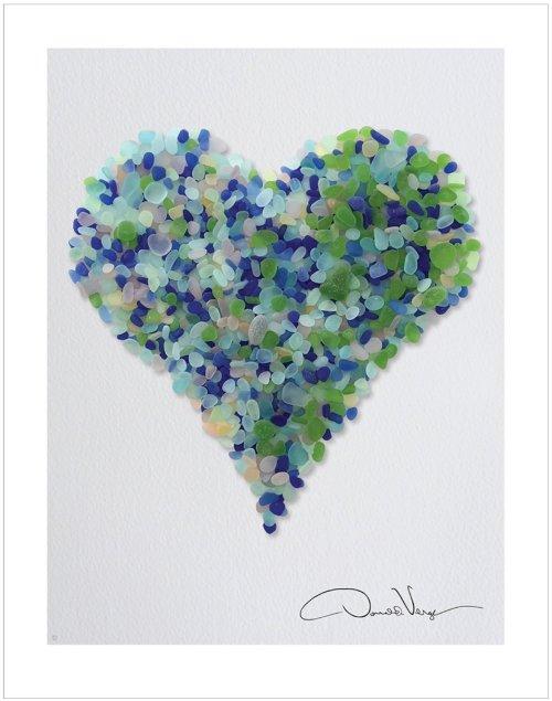 rain heart poster