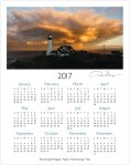 2017 lighthouse one pagecalendar
