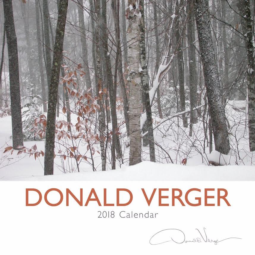 winter scene calendar